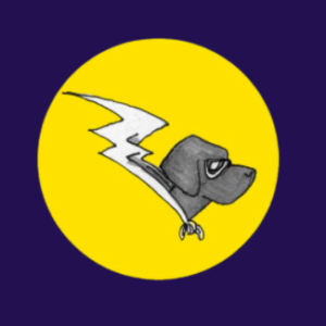 Power Dog illustration in profile by Matt Hayes