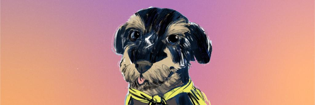 Power Dog Illustration by Colin Laurel